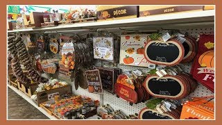 Fall/Autumn Decor Shopping At Dollar Tree