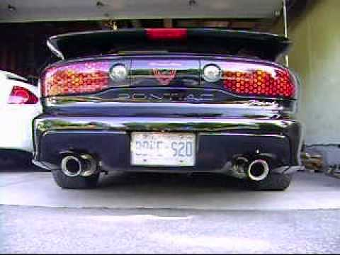 1999 Trans Am With SLP Powerflo Catback YouTube