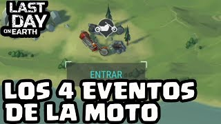 LOS 4 EVENTOS DE LA MOTO | LAST DAY ON EARTH | [El Chicha]