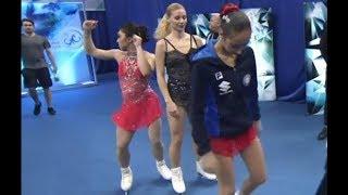 Gabrielle Daleman funny dance WTT 2019