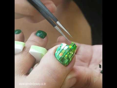 매직(호일)필름 네일아트(Magic Film Nail art) :: 원더뷰티
