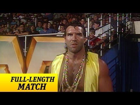 Razor Ramon's first WWF appearance.