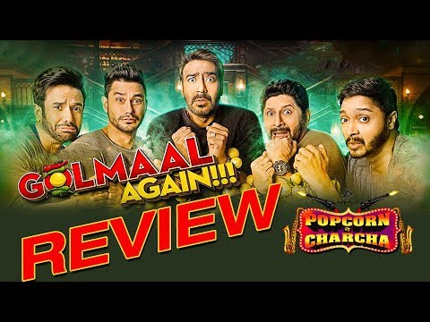 Golmaal Again Review | Ajay Devgn | Parineeti Chopra | Rohit Shetty | Popcorn Pe Charcha | ADbhoot