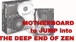 asrock x370 taichi amd ryzen socket am4 atx motherboard review