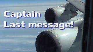 71万回の感涙!!! 完全収録!!! 機長のラストメッセージ!!! ANA126便 ジャンボラストフライト Boeing 747 thumbnail