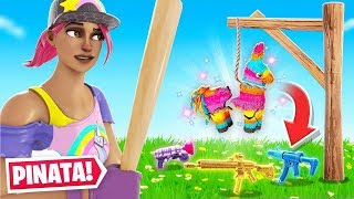 Piñata FOR Loot Challenge in Fortnite!