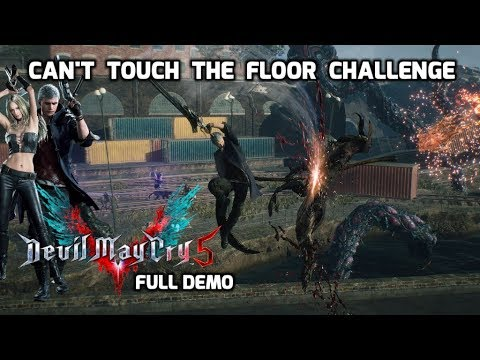 Devil May Cry V 2nd full PS4 demo [THE FLOOR IS LAVA] DMC5 Air Play thumbnail