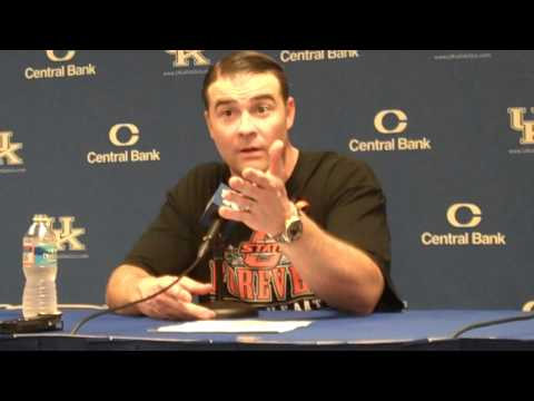 UK Hoops Matthew Mitchell After Win vs Southern Miss Part 2.MP4
