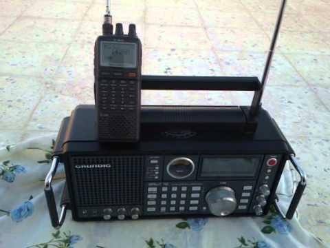 Grundig Satellit 750 vs  icom -ic-r20