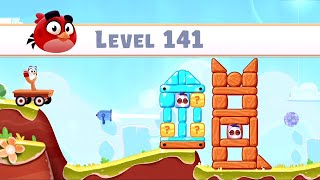 Angry Birds Casual Walkthough Level 141-150 (iOS Android Gameplay)