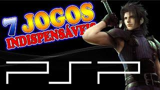 PSP (Playstation Portable) - 7 Jogos Indispensáveis