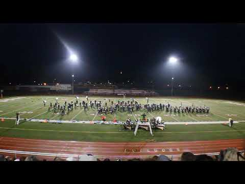 MATTAWAN HIGH SCHOOL MARCHING BAND 10.06.18 @ VICKSBURG