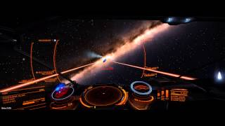 Elite: Dangerous Beta 3 - Abfangen von Kriminellen (Cobra vs. Asp)