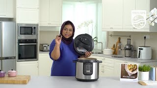 HD2137 - Philips All-in-One Pressure Cooker - Cleaning and Maintenance
