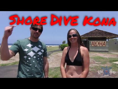 Shore Diving Big Island, Hawaii - Old Airport Dive Site | Kona Honu Divers