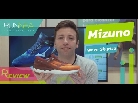 Mizuno Wave Skyrise Review: Gran confort para unas zapatillas running de largas distancias