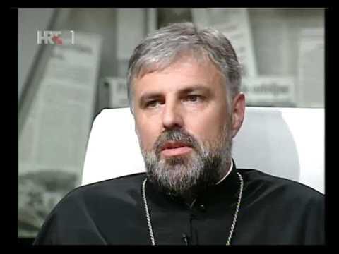 """Vladika Grigorije u emisiji """"nedeljom u 2"""" na HRT1"""