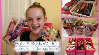 Bath & Body Works Collection + Inexpensive Storage Ideas!