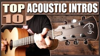 TOP 10 ACOUSTIC INTROS OF ALL TIME Video