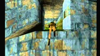 Tomb Raider I (PS1) Playthrough Part 11 - Greece - Tomb of Tihocan