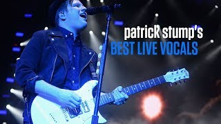 Patrick Stump's Best Live Vocals