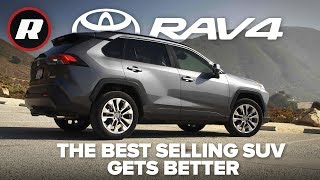 The 2019 Toyota RAV4 is more stylish and better-driving than ever