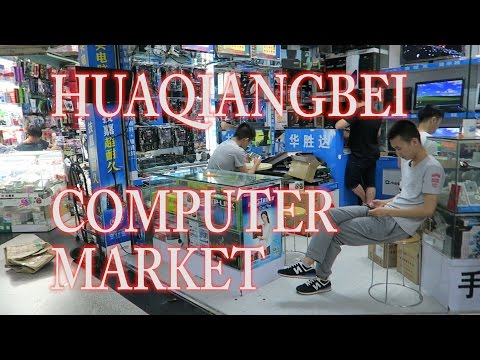 Exploring Huaqiangbei (华强北) in Shenzhen, China: one of the world's largest electronics markets