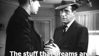 The Maltese Falcon 1941 The stuff that dreams are made of