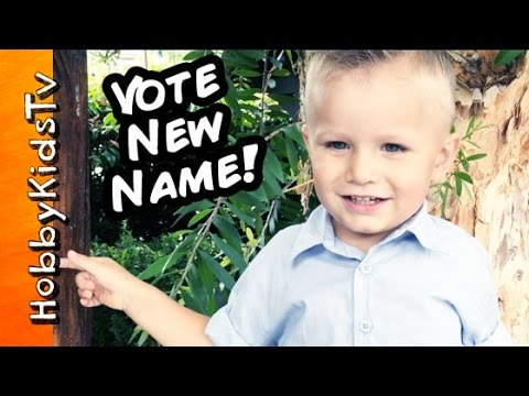Give HobbyBaby a New Name! HobbyBear? Thumbs UP if Yes by HobbyKidsTV