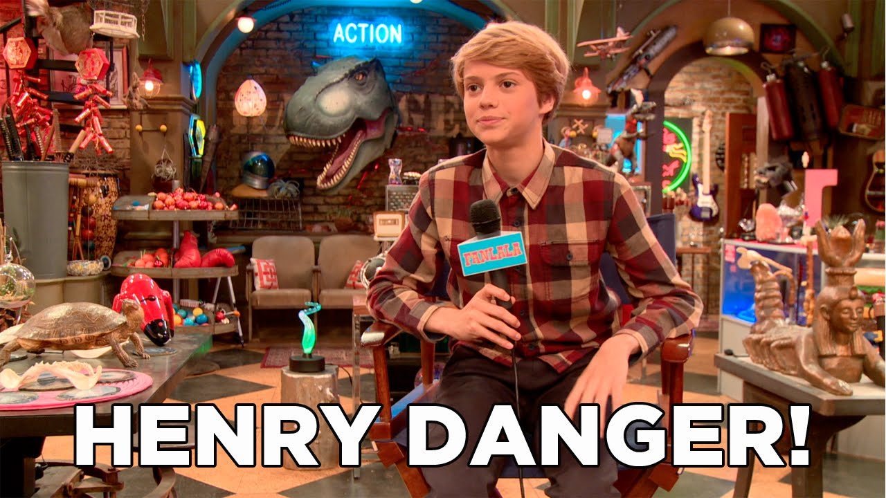 Behind The Scenes With The Cast Of Henry Danger On Nickelodeon