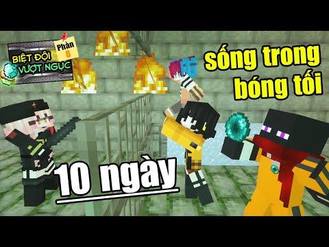 Minecraft Biệt Đội Vượt Ngục (PHẦN 8) #3- JAKI 10 NGÀY SỐNG TRONG BÓNG TỐI NHÀ TÙ 👮 vs 😨