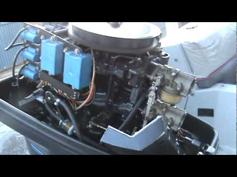 Force Outboard 85HP  YouTube
