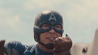 Капитана Америка и Сокол устанавливают чипы. Первый мститель: Другая война. 2014