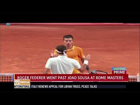 Roger Federer, Nadal & Djokovic reach Final 8 in Rome