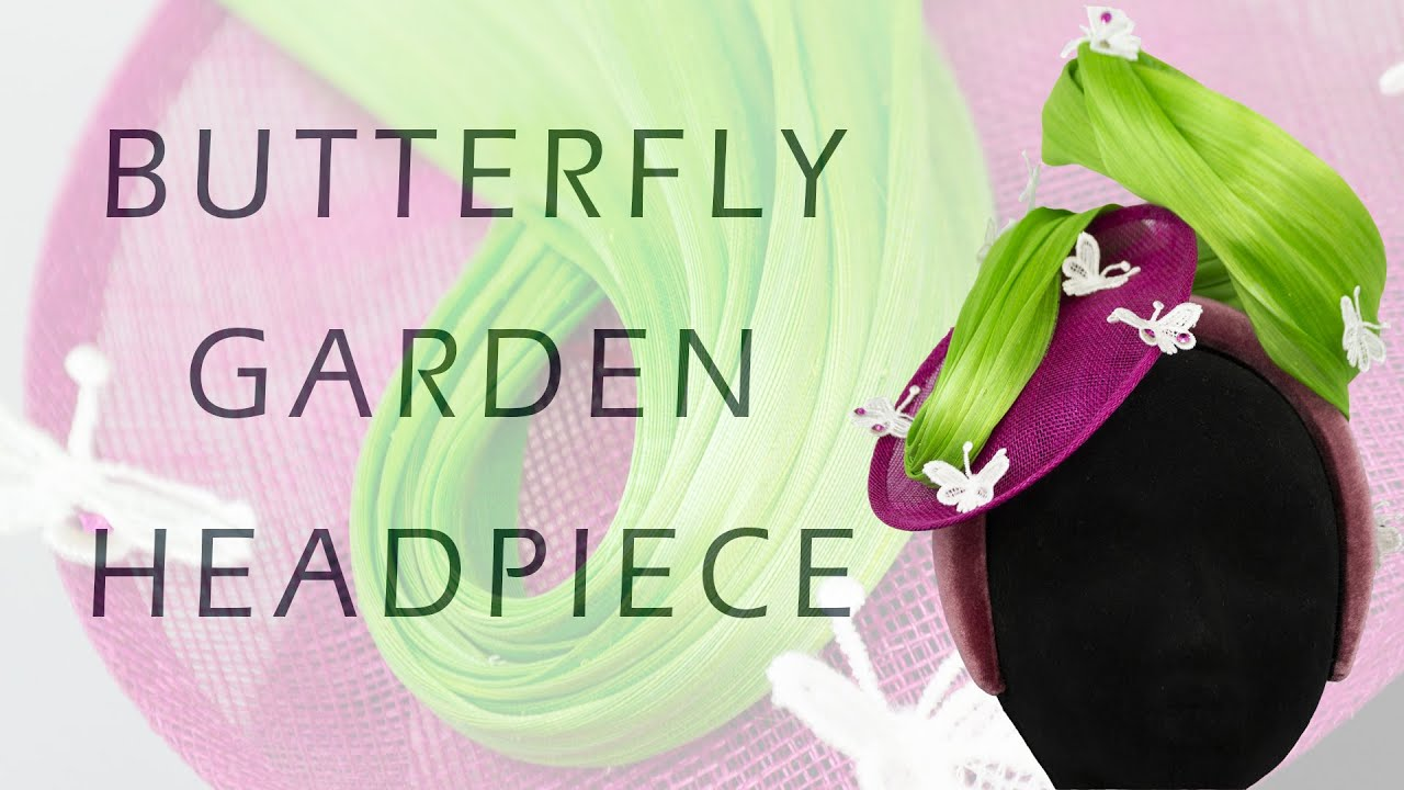 Butterfly Garden Headpiece