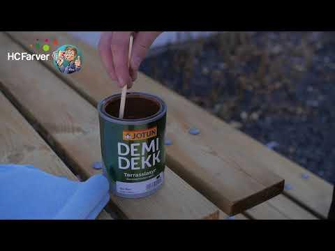 Cool Behandling af trykimprægneret træ - YouTube UR41