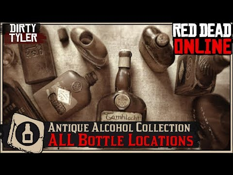 All Antique Alcohol Bottle Collection Locations (Cycle 1) Red Dead Online RDR2