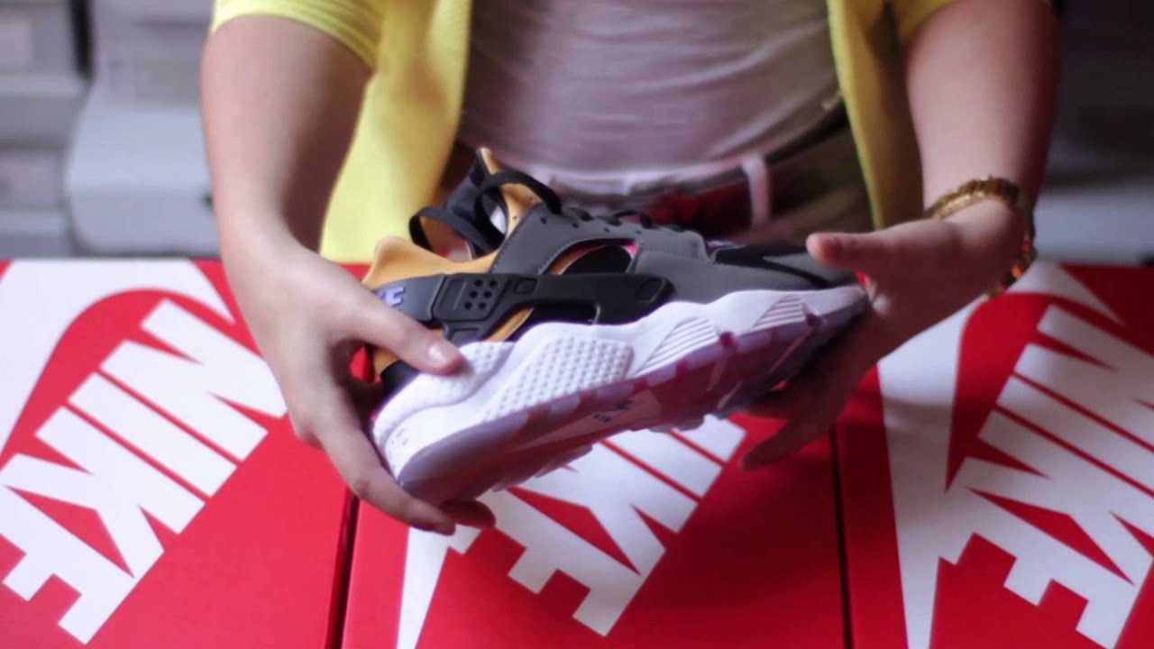 473af4272172 Basket Nike Air Huarache Run SD Gris 724764 005 - YouTube