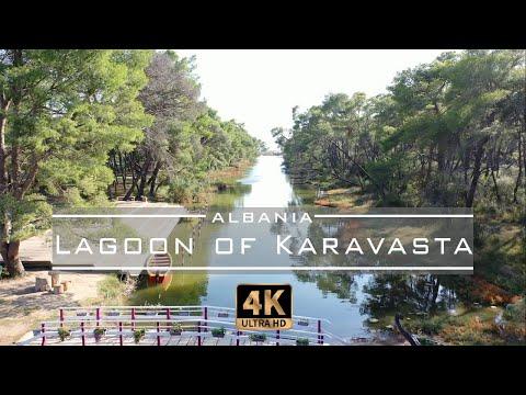 lagoon-of-karavasta,-divjakë---🇦🇱-albania-[drone-footage]-4k