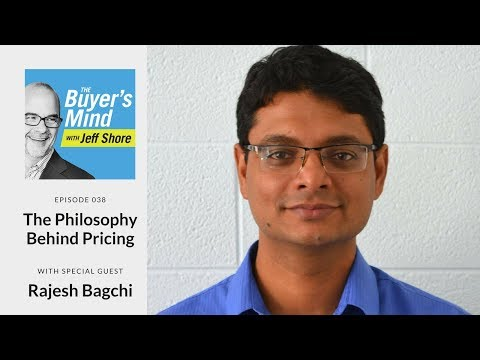 #038: The Philosophy Behind Pricing with Rajesh Bagchi