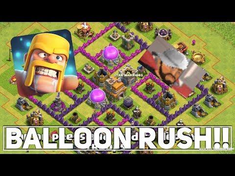 BALLOON RUSH!! (Clash Of Clans #2)