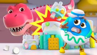 Donut and Castle | Yummy Foods Animation | Kids Cartoon | Nursery Rhymes | BabyBus
