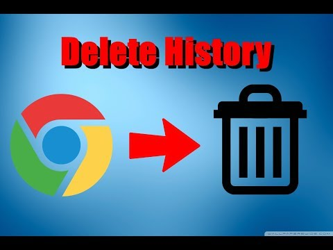 How To Delete Browsing History On Google Chrome 2018