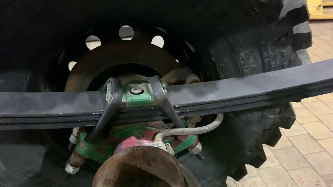 Уаз-469. Установил Задний Военный Мост - YouTube