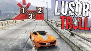 7000 IQ LUSOR TROLL PARCOUR | GTA 5 Online