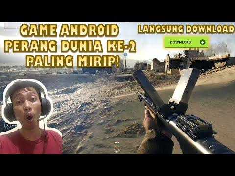 Ini Dia! Game Android Perang Dunia Ke 2 Paling Mirip (Review & Gameplay)