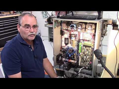 Backpanel part 4 & Motor/Encoder hookup & Servo motor current setting