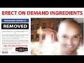 Erect on Demand Ingredients - Get The Peruvian Brew Recipe