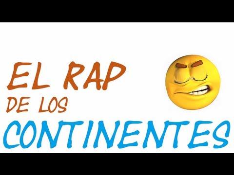 RAP Cuntos continentes hay en la tierra  YouTube