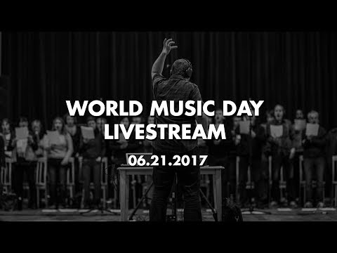 World Music Day 2017 Livestream Celebration!